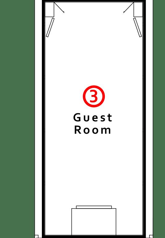 ③Guest Room